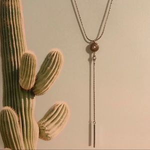 Lucky Brand lariat necklace